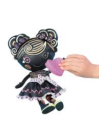 amazon com lalaloopsy color me trace e doodles doll creative