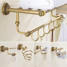 bronze bathroom accessories set towel homgeek stainless bathroom