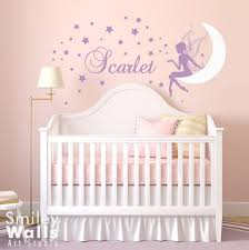Personalized Nursery Wall Decals Wall Decal Moon Wall Decal Wall Sticker Wall