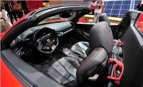 458 Spider Interior Cferrari 458 Spider Car 2013 Revealed Latest Autos