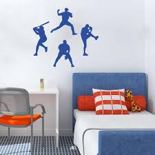 Wall Decals Kids Rooms by Sport Decals For Walls Sports Wall Stickers For Kids