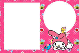 my melody birthday party free printable invitations is it for