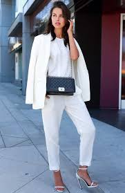 all white jumpsuits 30 fashionable all white for any season stayglam