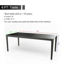 online shop saideng fluffy table skirt tableware tablecloth