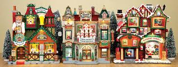 christmas decoration village house simply inspired holidays