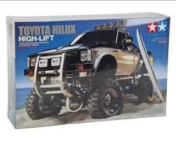 toyota hilux lift electric 4x4 scale truck kit tamiya