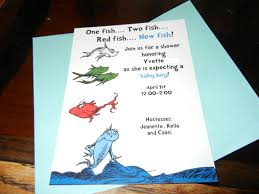Fishing Themed Baby Shower - dr seuss baby shower invitations choice image handycraft