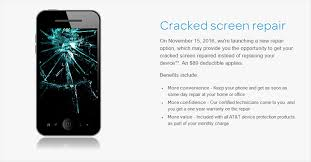android screen repair at t will offer screen repairs for select devices starting on