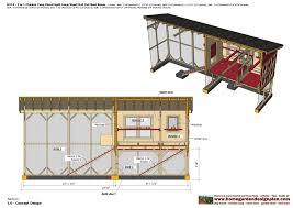 home garden plans m113 2 in 1 chicken coop plans split