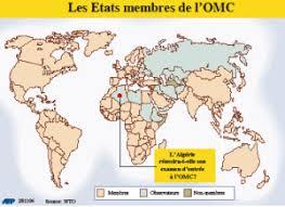 siege de l omc le maroc pousse l algérie vers l omc l economiste