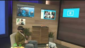 microsoft shows hololens simulation at build 2015 youtube
