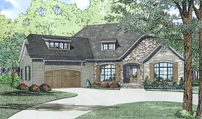 French Home Plans House Plan 153 1992 3 Bdrm 2 408 Sq Ft French Home