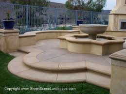 Cost Of Stamped Concrete Patio by Concrete Patios Excellent Stamped Concrete Patio Designs Patio