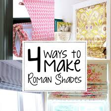 Where To Buy Roman Shades - best 25 homemade roman blinds ideas on pinterest homemade
