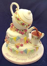 i u0027ll be mother tipping teapot cake wow cakes pinterest