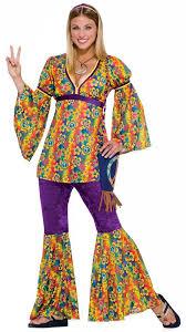 Hippie Halloween Costumes Adults Womens Purple Haze Hippie Costume Costumes
