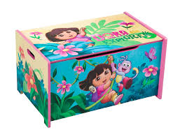 Dora The Explorer Bedroom Furniture by Delta Children Nickelodeon Dora The Explorer Toy Box