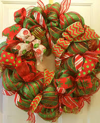 clearance deco mesh wreath clearance by