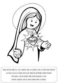 imagenes de virgen maria infantiles virgen maría ruega por nosotros virgen maria para colorear