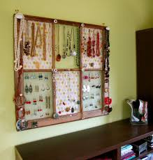 Jewellery Organiser Cabinet Awesome Ideas Of Diy Wall Jewelry Organizers
