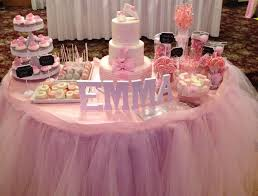 ballerina baby shower decorations baby shower cakes tables party xyz