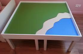 chambre d enfant playmobil forums autres construire une table de jeux playmobil pour