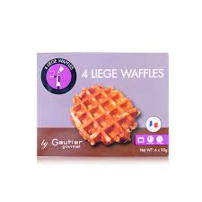 cuisine gautier gautier gourmet 4 liege waffles fields china