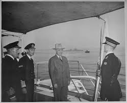 file president harry s truman and king george vi of england on