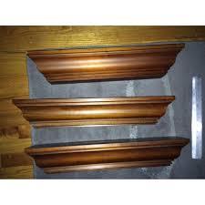 Rustic Wood Ledge Pottery Barn Pottery Barn Crown Molding Ledges Aptdeco