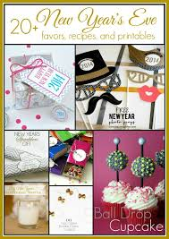 Diy New Years Eve Decorations Printables by 20 New Year U0027s Eve Ideas And Inspiration Favors Recipes Printables