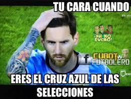 Memes Sobre Messi - los memes apuntan a higua祗n y messi