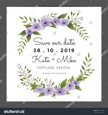 save date wedding invitation card template stock vector 506705098