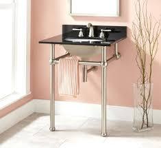 Console Bathroom Sinks Sinks Wood Console Bathroom Sink Four Legs 4 Console Sink With 4