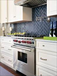 Slate Backsplash In Kitchen Backsplash Ideas With White Cabinets Warm Home Design