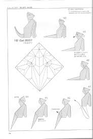 origami halloween how to make an origami cat