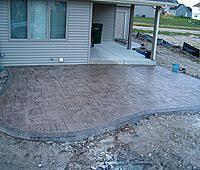 Creative Brick Patio Design With Pergola Tub Seat Walls And by Creative Brick Patio Design With Pergola Tub Seat Walls And