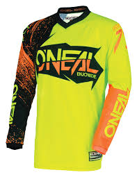 motocross jerseys o u0027neal element burnout jersey revzilla