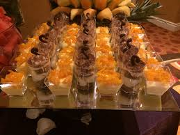 mini dessert cups fruit buffet edible fruit