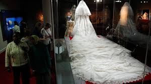 wedding dress edmonton sneak peek of princess diana s wedding dress ahead of exhibit