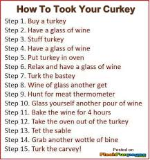 Humorous Thanksgiving Quotes How To Cook A Turkey Fall Thanksgiving