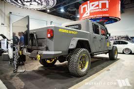 jeep bandit 2017 2016 sema sprintex momo bandit jeep jk double cab pickup truck