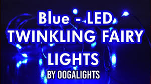 ultra thin wire led lights blue led twinkling fairy lights 60 ultra thin silver wire youtube