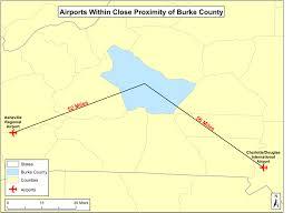 Charlotte Nc Airport Map Location Burke Development Inc