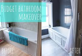 ideas for a bathroom makeover budget bathroom makeover