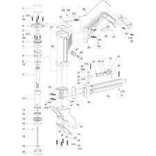 qep 470 16 ga floor nailer parts qepparts com