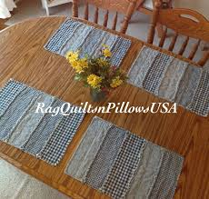 Table Place Mats 35 Best Country Placemats And Table Runners Images On Pinterest