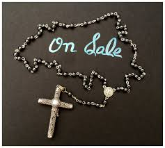 cruel intentions rosary sale cruel intentions rosary sterling silver pearl swirl pendant