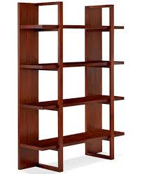 Battery Park Home Office Open Bookcase Furniture Macys - Macys home furniture