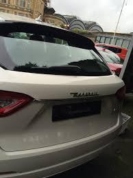 maserati levante trunk in review maserati levante v6 diesel suv