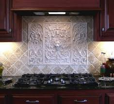 Decorative Kitchen Backsplash Handmade Panel And Bouquet Tiles Decorative Backsplash Tiles